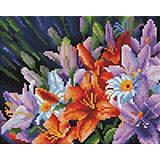 Алмазная мозаика Белоснежка «Лилии из сада», 20х25 см