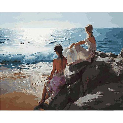 Картина по номерам Белоснежка «У самого синего моря», 40x50 см от Белоснежка