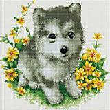 Алмазная мозаика Белоснежка «Я буду тебя охранять», 30х30 см