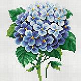 Алмазная мозаика Белоснежка «Ветка гортензии», 20х20 см