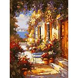 Картина по номерам Белоснежка «Летнее утро», 30x40 см