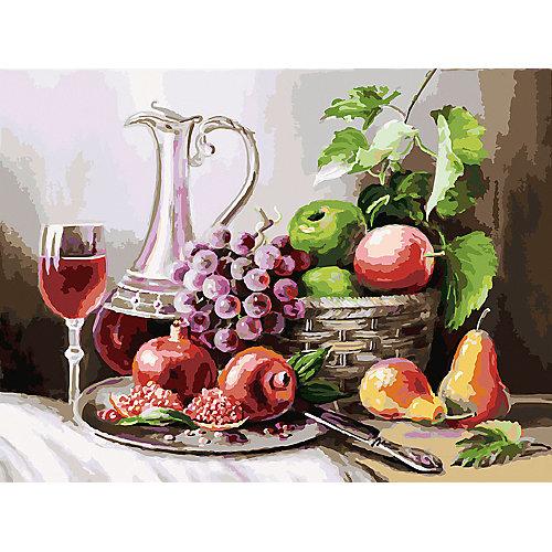 Картина по номерам Белоснежка «Натюрморт с фруктами», 30x40 см от Белоснежка