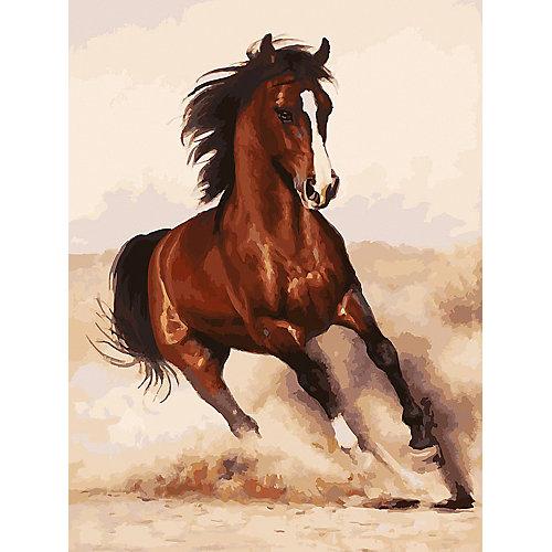 Картина по номерам Белоснежка «Галоп», 30x40 см от Белоснежка