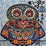 Алмазная мозаика Белоснежка «Волшебная сова», 40х40 см