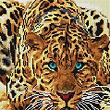 Алмазная мозаика Белоснежка «Леопард», 30х30см