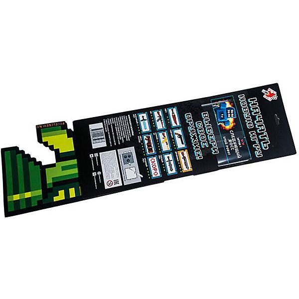 Миниган 8Бит Pixel Crew зеленый, 61 см