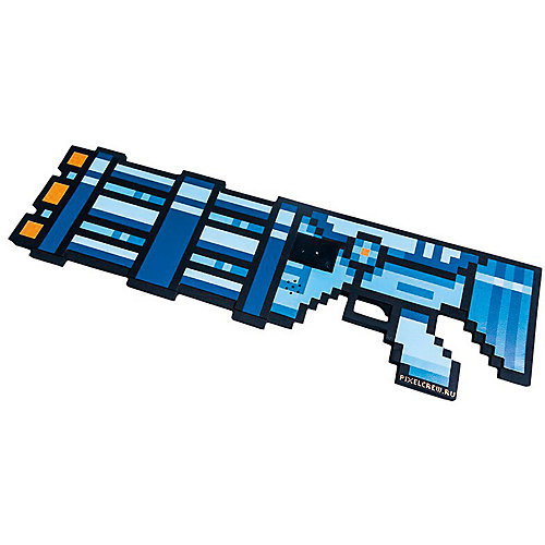 Миниган 8Бит Pixel Crew синий, 61 см от Pixel Crew