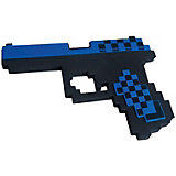 Пистолет Глок 17 8Бит Pixel Crew синий, 22см