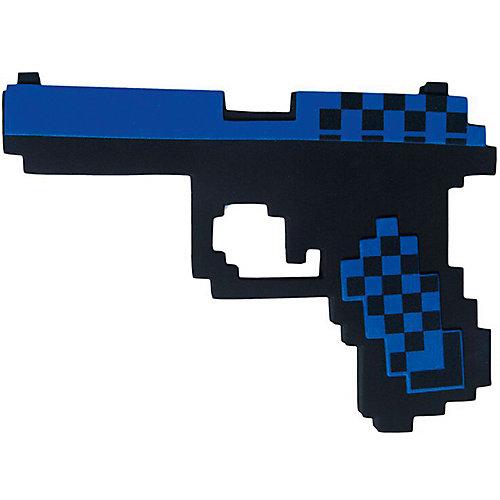 Пистолет Глок 17 8Бит Pixel Crew синий, 22см от Pixel Crew