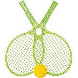 Набор для тенниса Mochtoys,зеленый