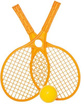 Набор для тенниса Mochtoys,оранжевый