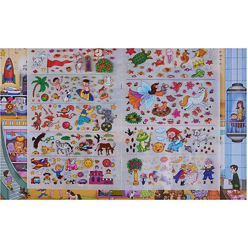 """Книжка с наклейками-переводилками """"Для девочек"""" от Робинс"""