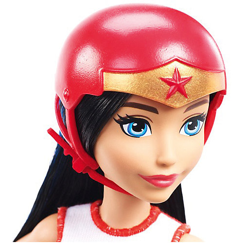 "Кукла DC Super Hero Girls ""Куклы на роликах"" Чудо-женщина от Mattel"