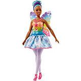 "Кукла Barbie ""Dreamtopia Волшебные Феи"" с голубыми волосами, 29 см"