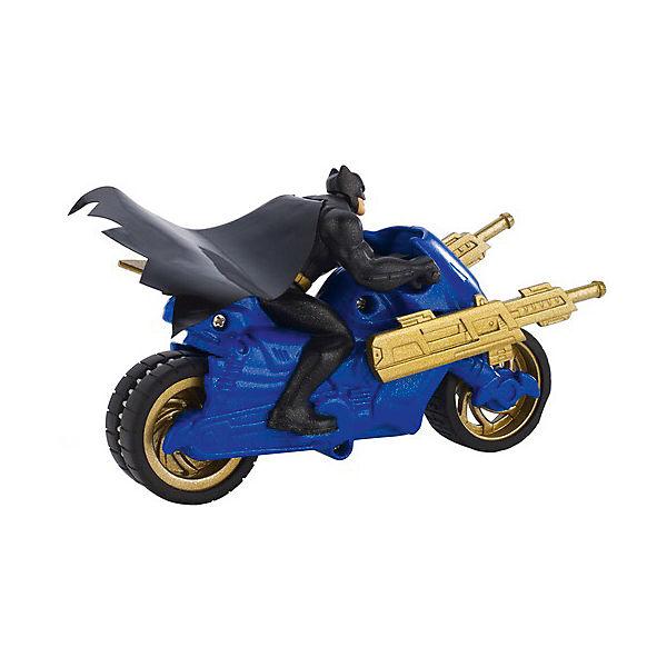 Транспортное средство DC Super Heroes Мотоцикл Бетмена, 15 см
