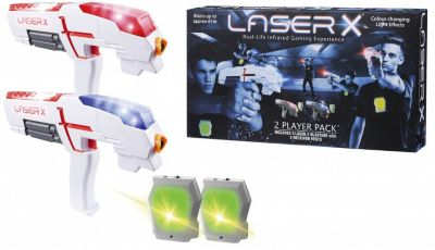 Набор игровой Laser X (2 бластера, 2 мишени)
