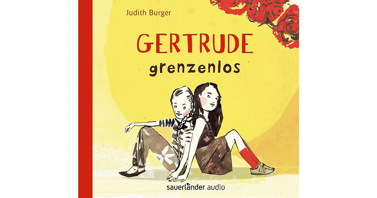 Gertrude grenzenlos, 4 Audio-CDs
