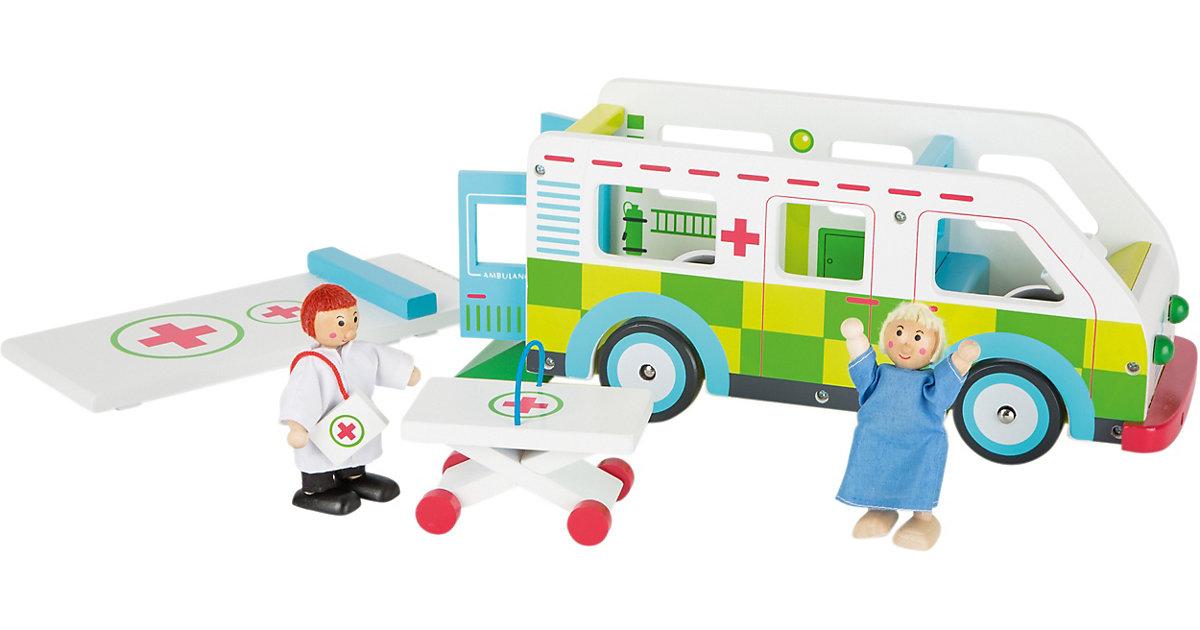 Spielwelt Krankenwagen grün