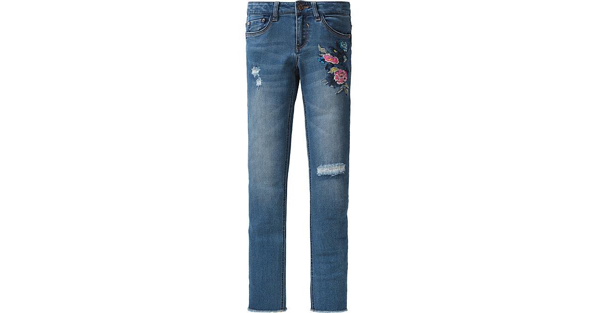 GARCIA JEANS · Jeans mit Stickerei Gr. 176 Mädchen Kinder