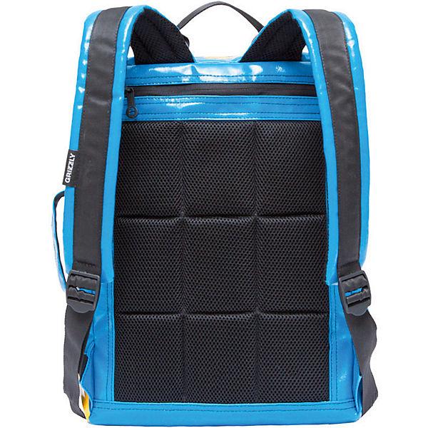 Рюкзак Grizzly, голубой