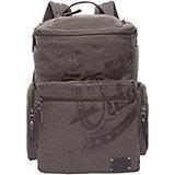 Рюкзак Grizzly, серо-коричневый