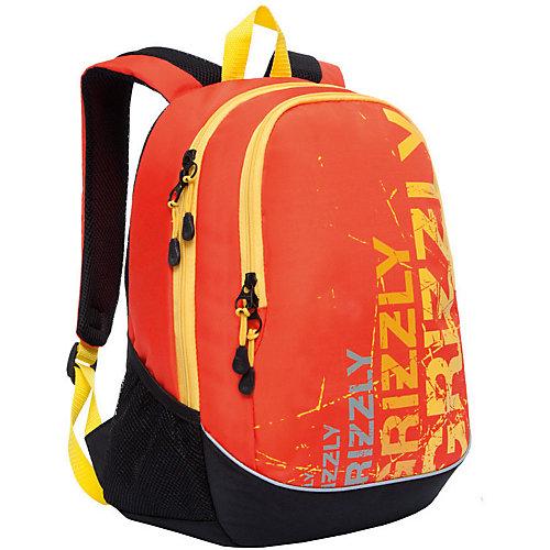 Рюкзак Grizzly, чёрный/оранжевый - оранжевый/черный от Grizzly