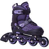 Роликовые коньки Glamour, фиолетовые