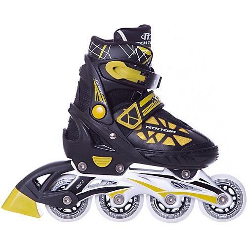 Роликовые коньки X-Tech - желтый от Tech Team
