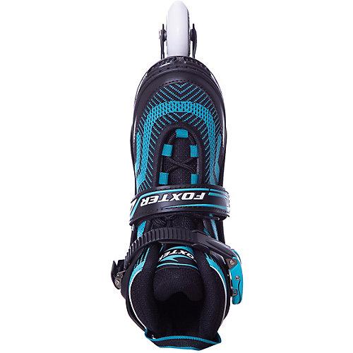 Роликовые коньки Foxter, голубые - голубой от Tech Team