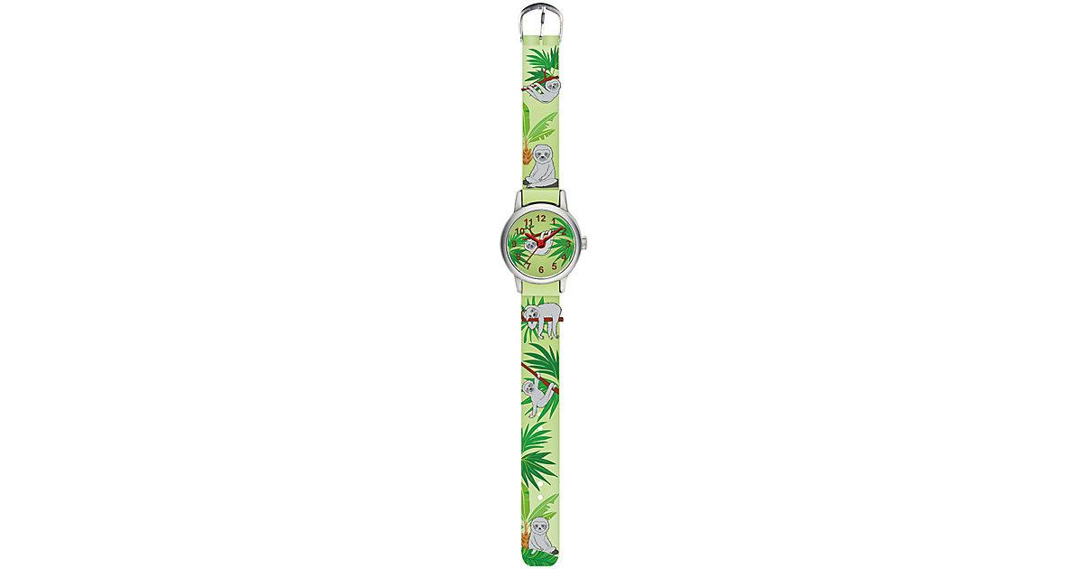 Armbanduhr Faultier grün
