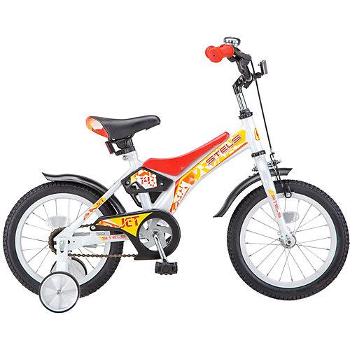 """Двухколесный велосипед Stels Jet Z010 14"""" - красный от Stels"""