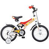 """Двухколёсный велосипед Stels """"Jet 14"""" Z010 8.5, белый/красный"""
