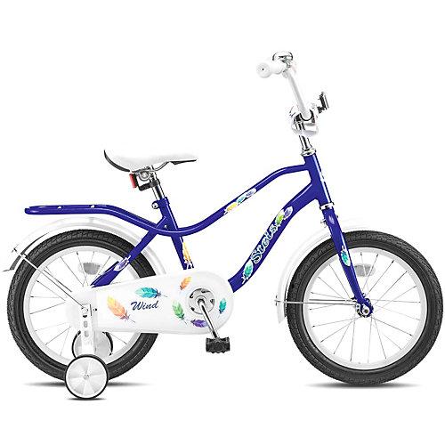 "Двухколесный велосипед Stels Wind Z010 9.5 14"" - синий от Stels"