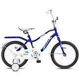 Двухколесный велосипед Stels Wind 14 дюймов Z010 9.5 дюймов, синий