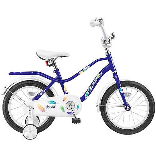 """Двухколёсный велосипед Stels """"Wind 16"""" Z010 11, синий от Stels"""