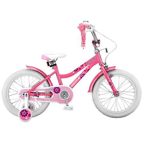 Двухколесный велосипед Stels Magic 16 дюймов V010 10.5 дюймов, розовый - розовый от Stels