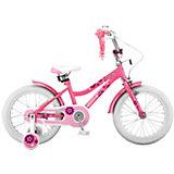 Двухколесный велосипед Stels Magic 16 дюймов V010 10.5 дюймов, розовый