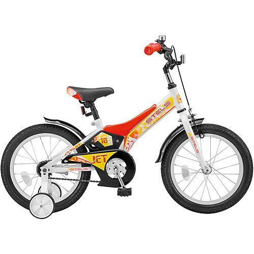 """Двухколесный велосипед Stels Jet Z010 16"""" - красный от Stels"""