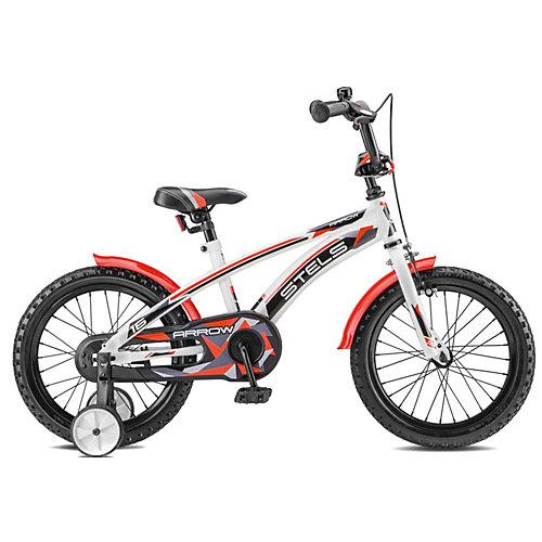 """Двухколесный велосипед Stels Arrow V020 16"""" - красный от Stels"""