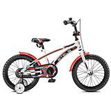 """Двухколёсный велосипед Stels """"Arrow 16"""" V020 9.5, белый/красный"""