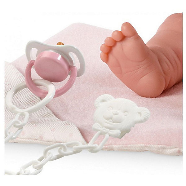 """Кукла-пупс Llorens """"Бэбита Роза"""" с одеялом, 26 см"""
