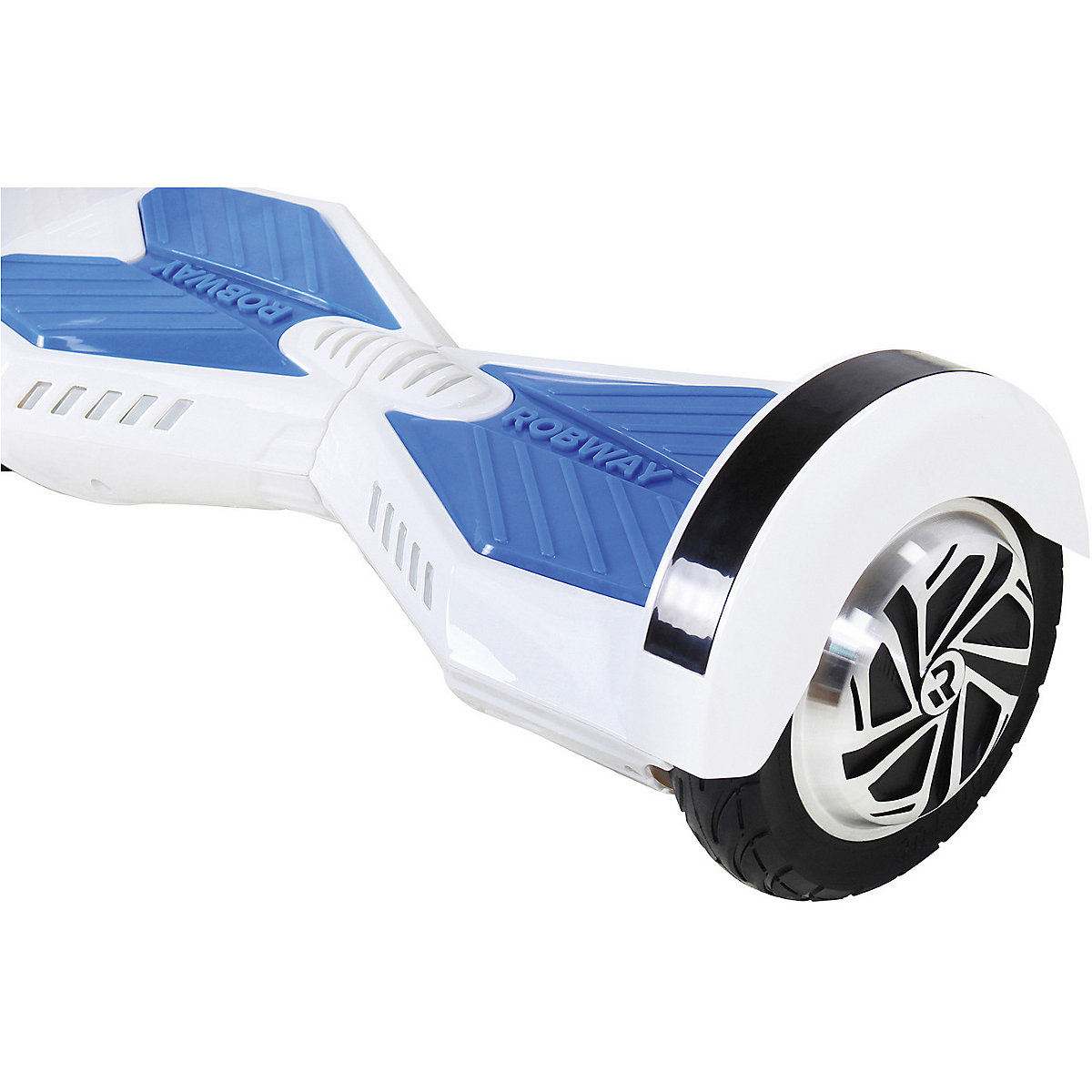 e balance hoverboard robway w2 8 zoll mit app funktion wei blau robway mytoys. Black Bedroom Furniture Sets. Home Design Ideas