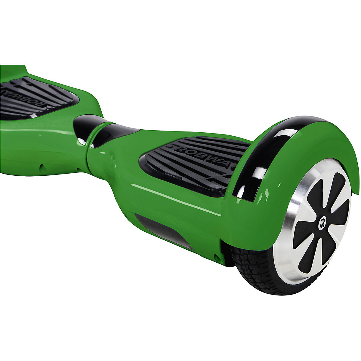 e balance hoverboard robway w1 6 5 zoll mit app funktion gr n robway mytoys. Black Bedroom Furniture Sets. Home Design Ideas