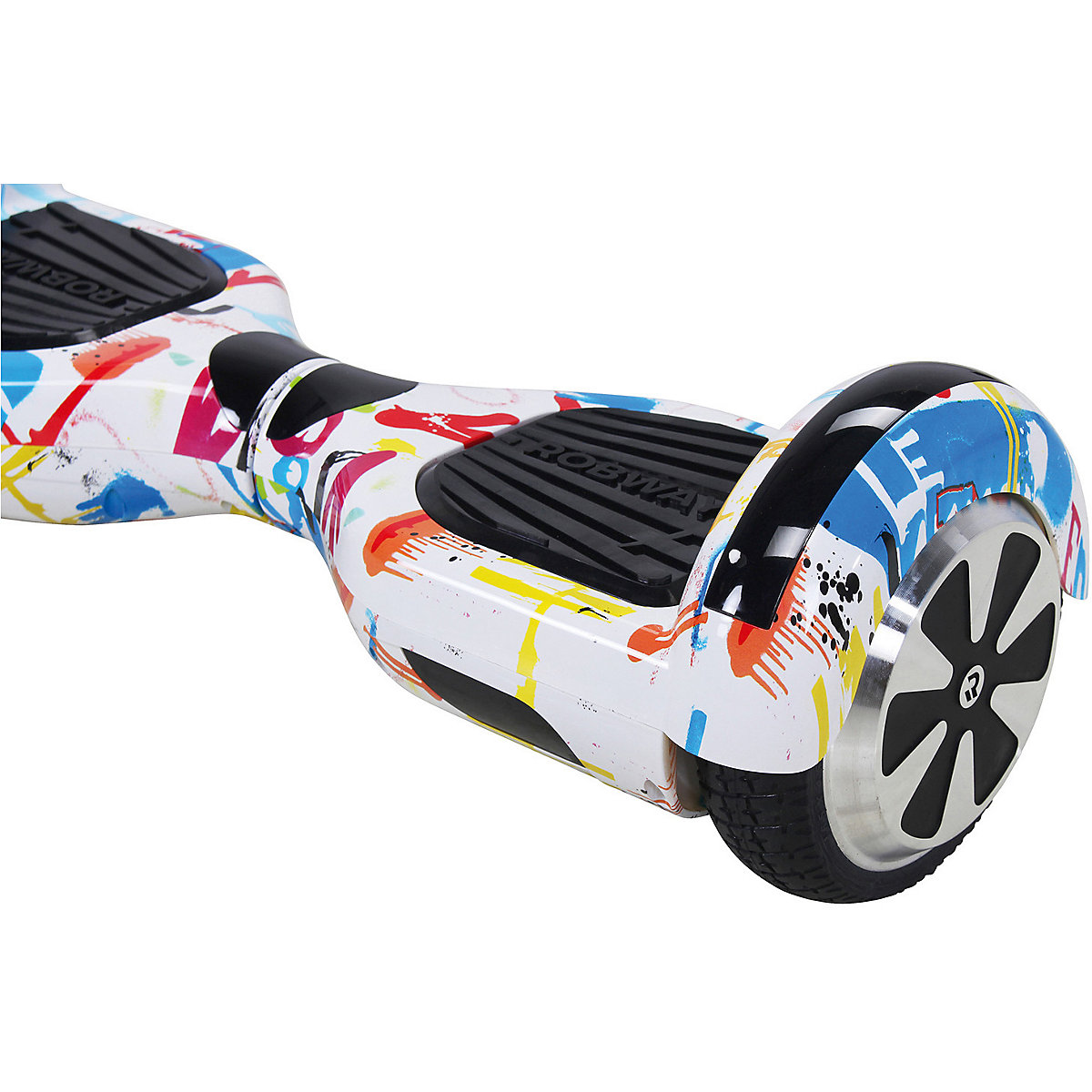 e balance hoverboard robway w1 6 5 zoll mit app funktion bunt robway mytoys. Black Bedroom Furniture Sets. Home Design Ideas