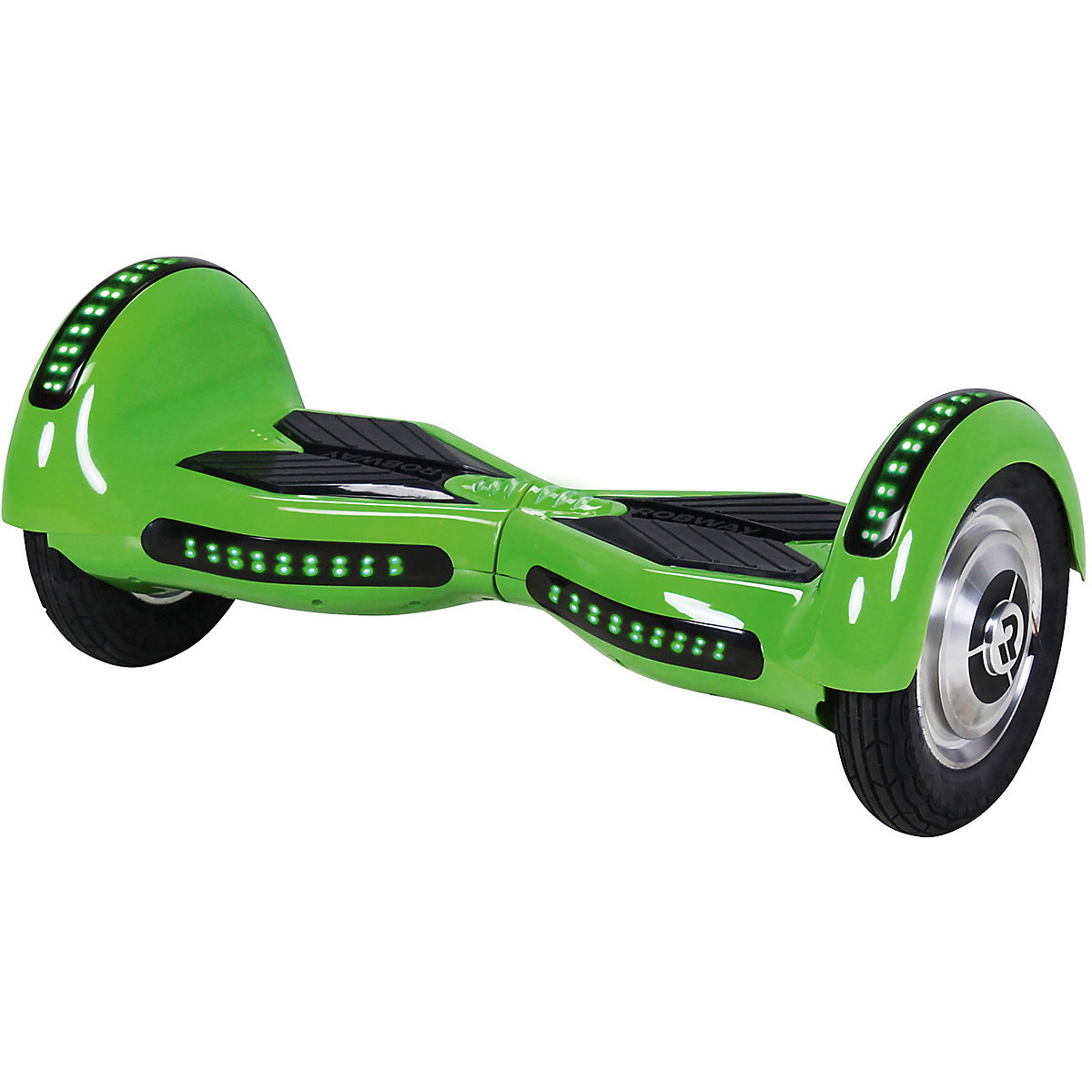 e balance hoverboard robway w3 10 zoll mit app funktion gr n robway mytoys. Black Bedroom Furniture Sets. Home Design Ideas