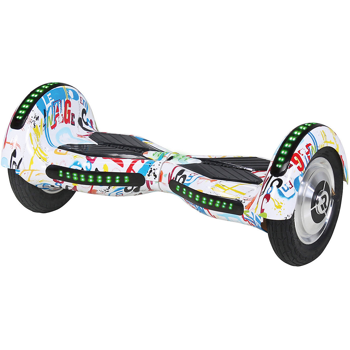 e balance hoverboard robway w3 10 zoll mit app funktion bunt mytoys. Black Bedroom Furniture Sets. Home Design Ideas