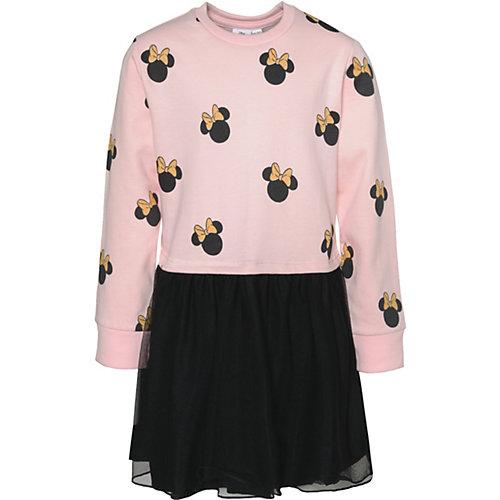 Disney Minnie Mouse Kinder Sweatkleid mit Tüllrock Gr. 116/122 Mädchen Kinder   04049661567886