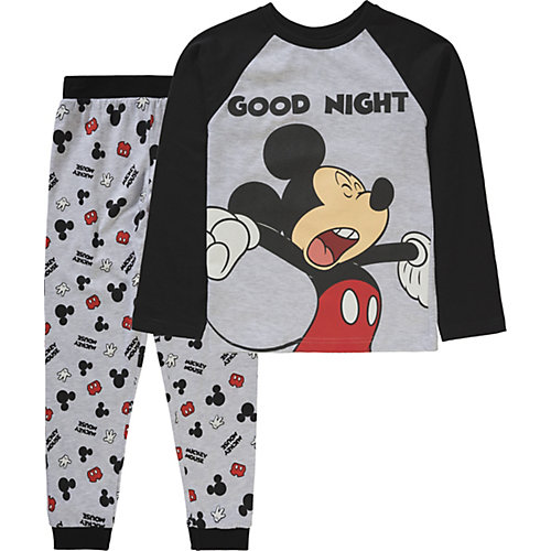 Disney Mickey Mouse & friends Schlafanzug Gr. 116/122 Jungen Kinder | 04049661569828