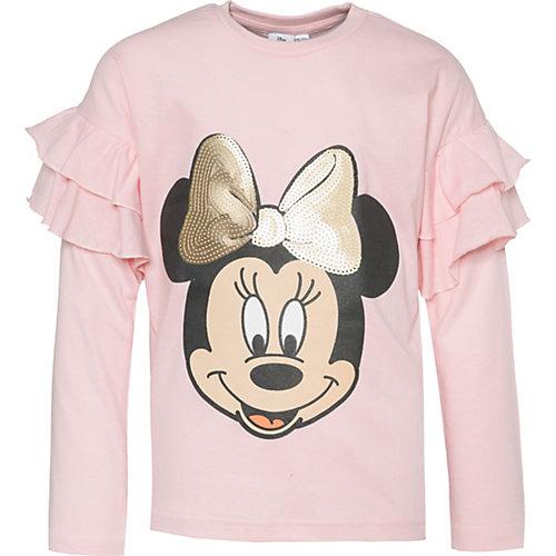 Disney Minnie Mouse Langarmshirt Gr. 128/134 Mädchen Kinder | 04049661568258