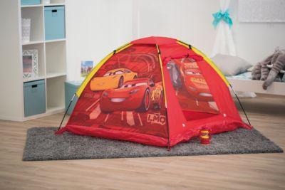 "Палатка с фонарем John ""Тачки"", красная"